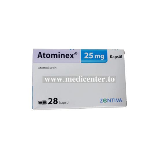 Atomineks (Atomoxetine)