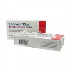 Candexil (Candesartan+Hydrochlorothiazide)