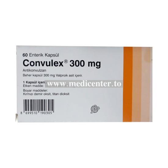 Convulex (Valproic Acid)